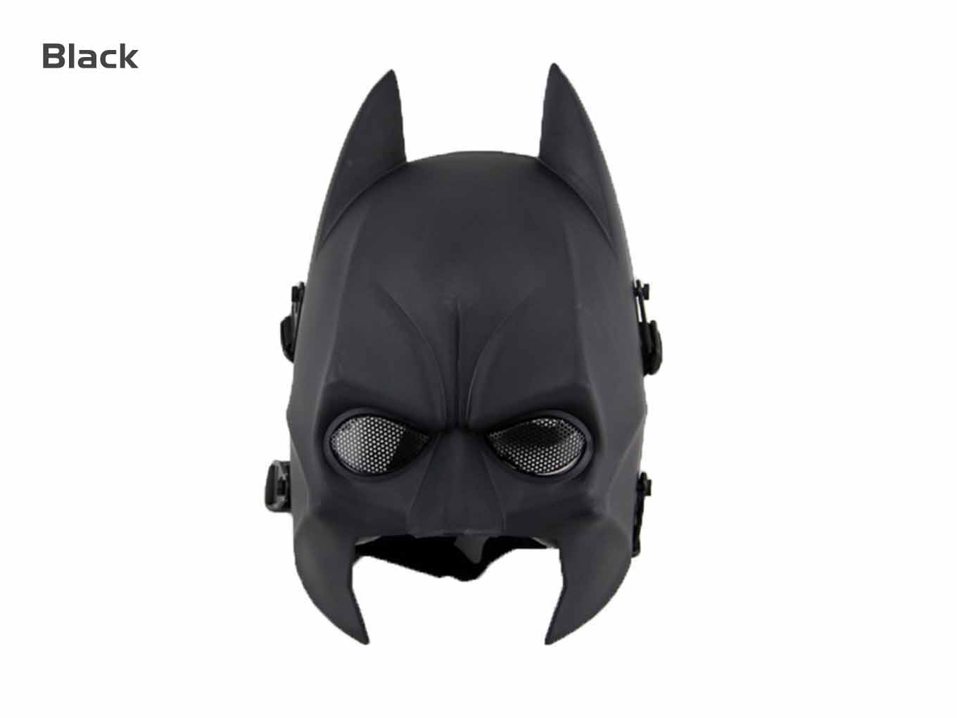 AOLS Face Mask Batman Mask for Paintball & Airsoft