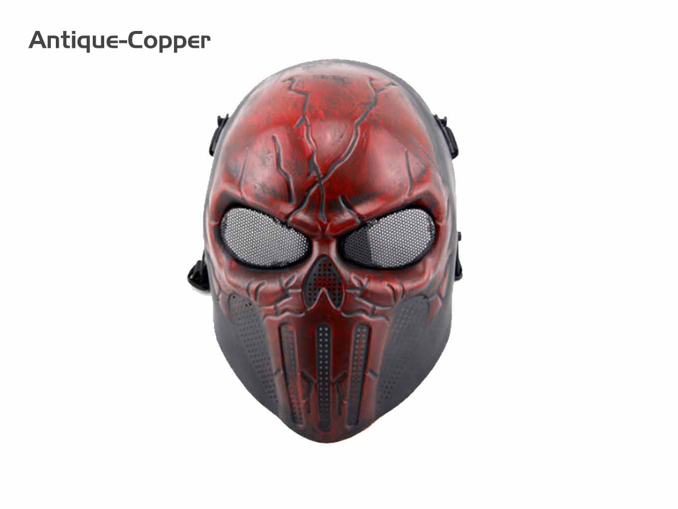 AOLS Face Mask Punisher Full Face for Paintball & Airsoft