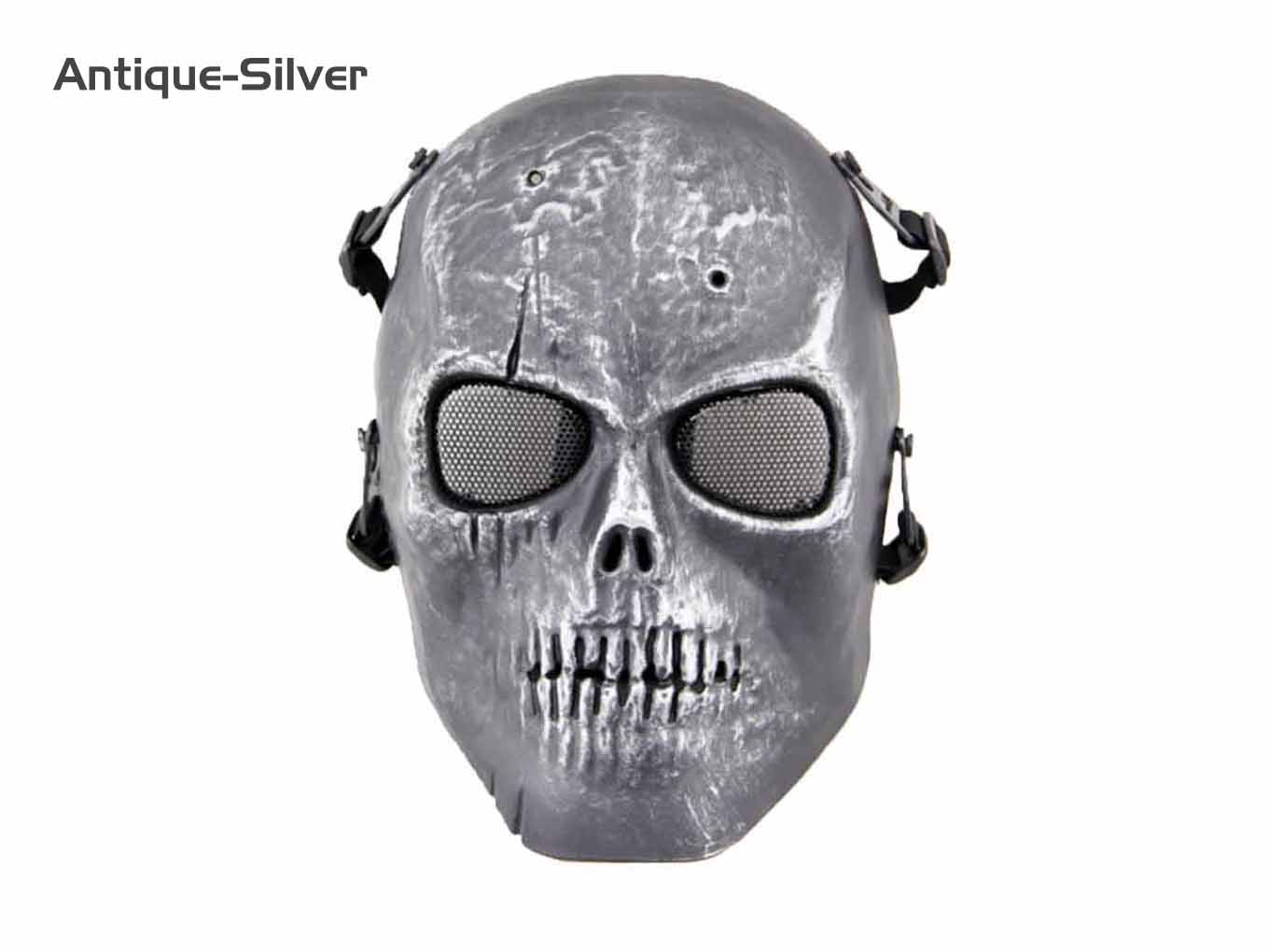 AOLS Face Mask Skeleton I Full Face for Paintball & Airsoft