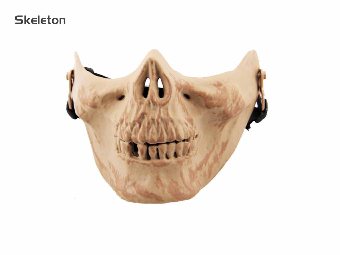AOLS Face Mask Skeleton Ⅲ Half Face for Paintball & Airsoft