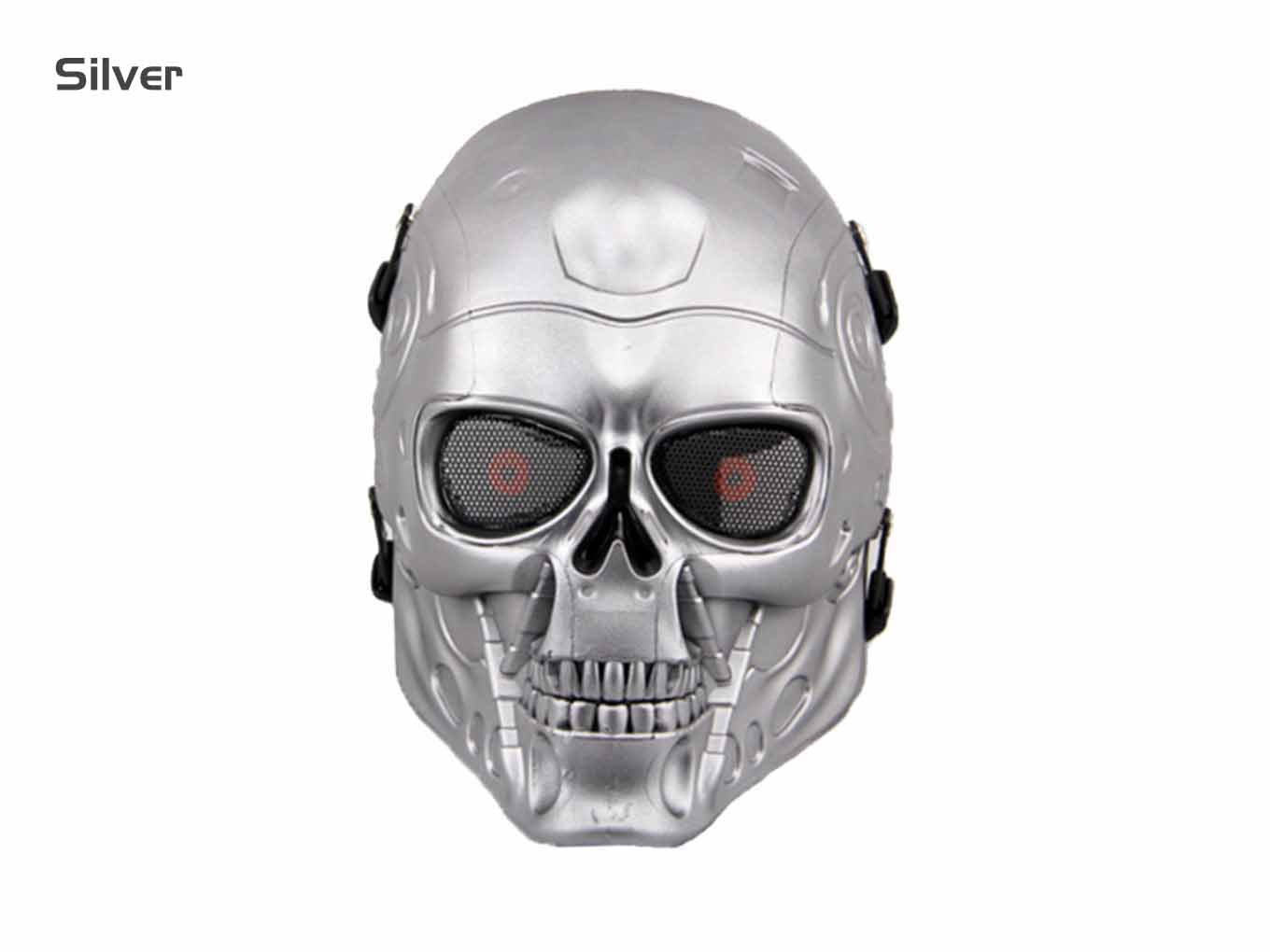 AOLS Face Mask The Terminator Full Face for Paintball & Airsoft