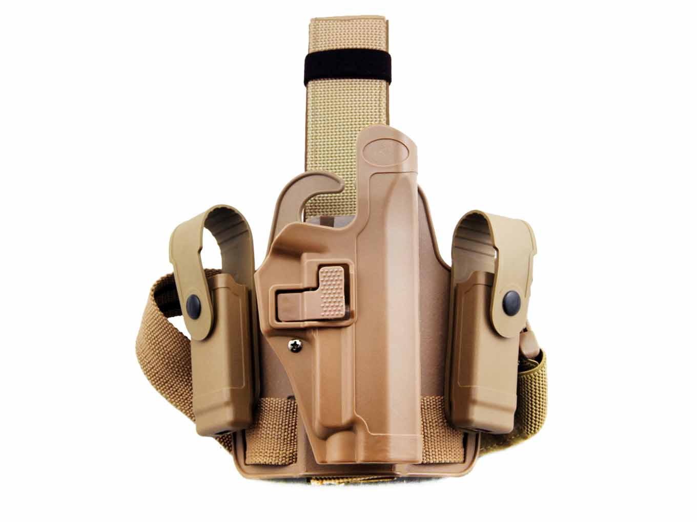 AOLS Tactical Leg Holster (CQC) For P226 Single Belt Right Hand