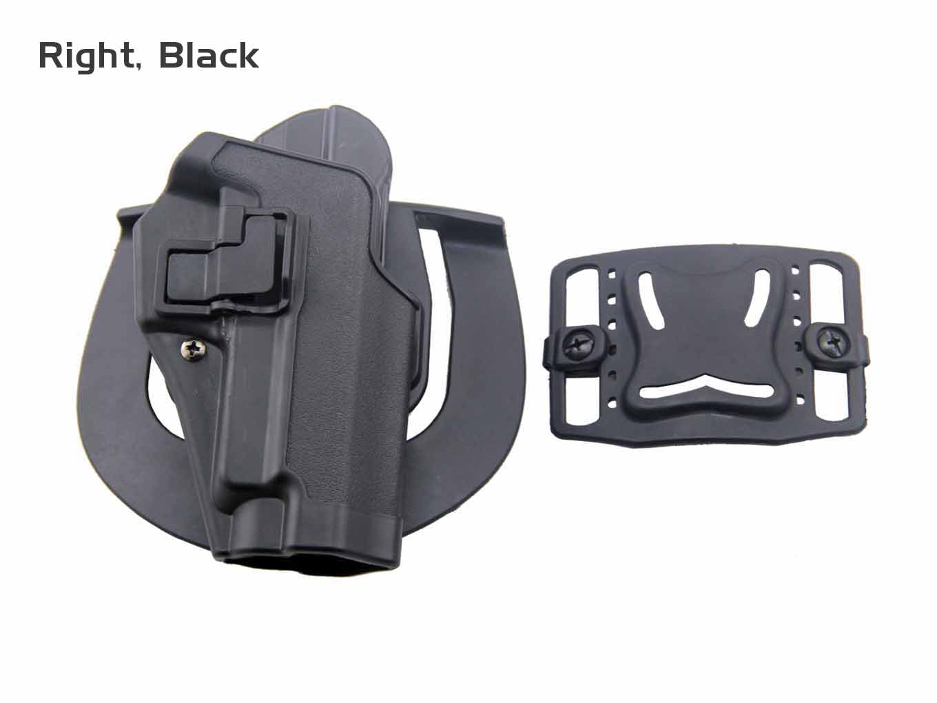 AOLS Tactical Holster CQC For P226 Black & Tan