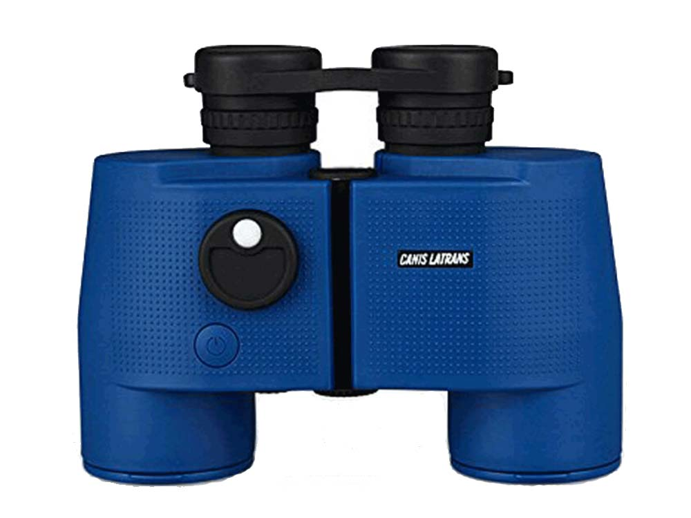 Canis Latrans Use in Long Distance 7x50 Binoculars BLUE
