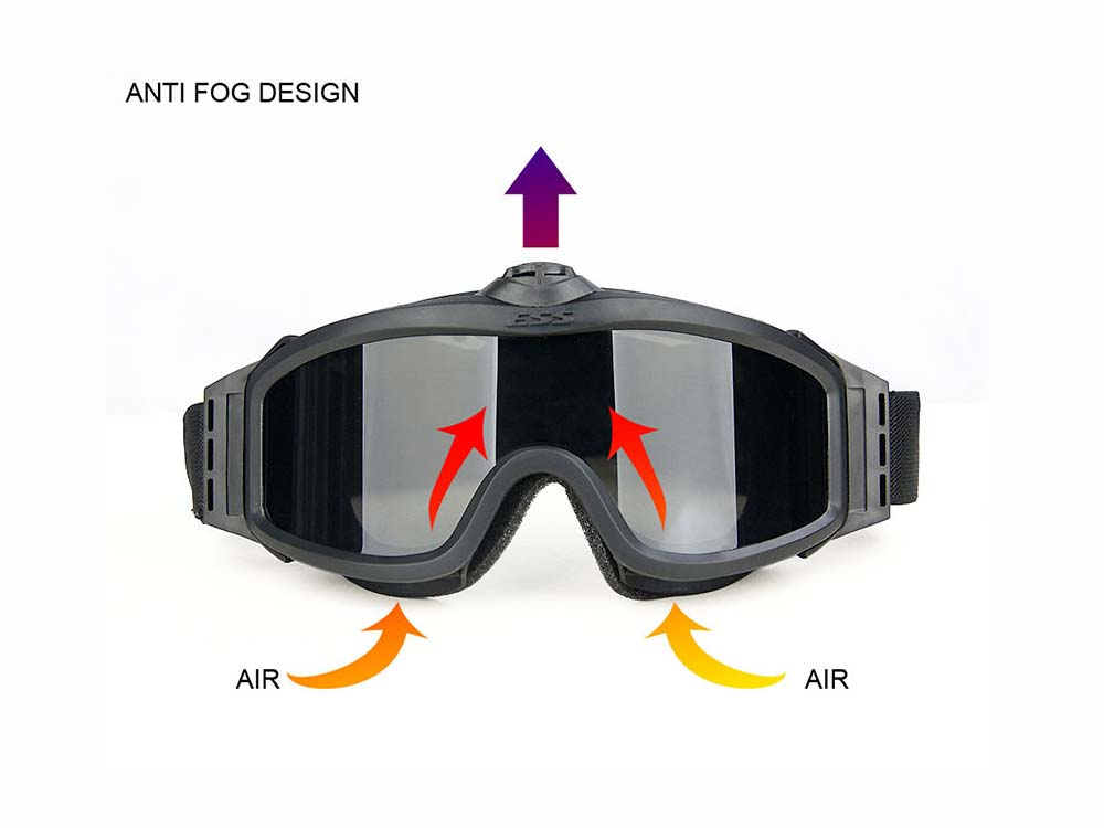 Canis Latrans tactical goggle Airsoft Protective Glasses