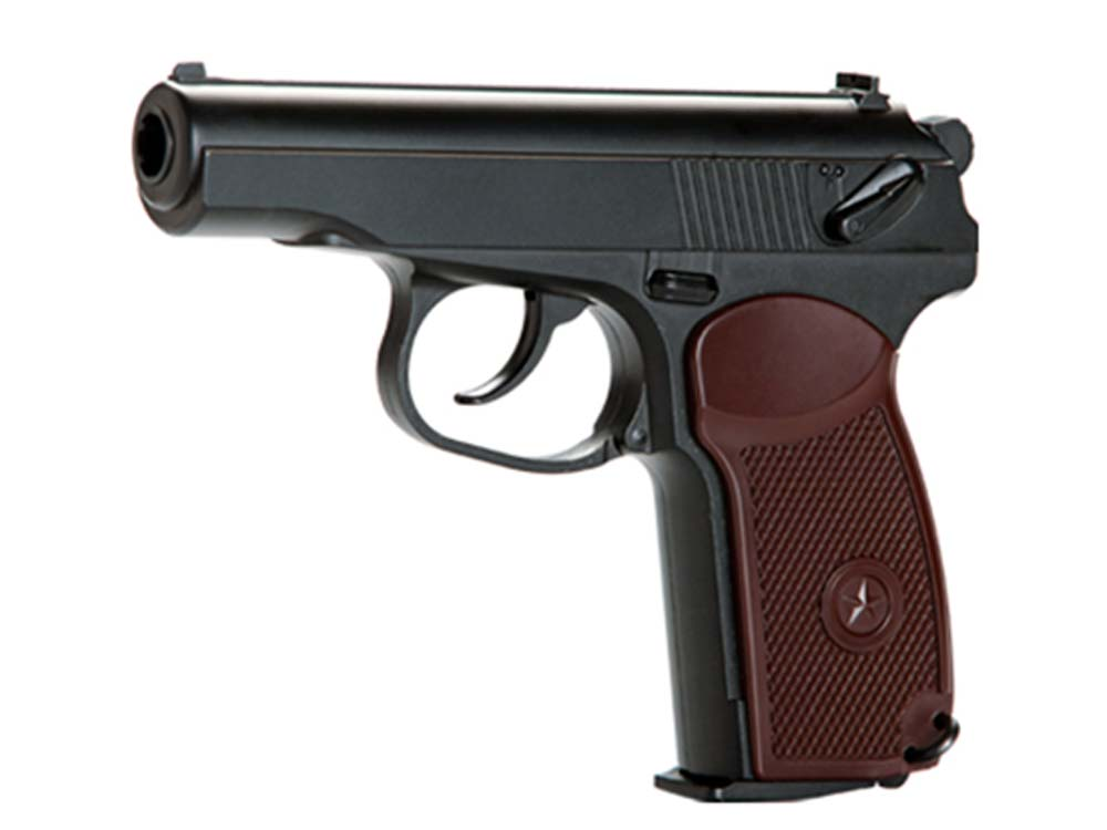 KWC 4.5mm CO2 KCB44 Full Metal Makarov pistol Black
