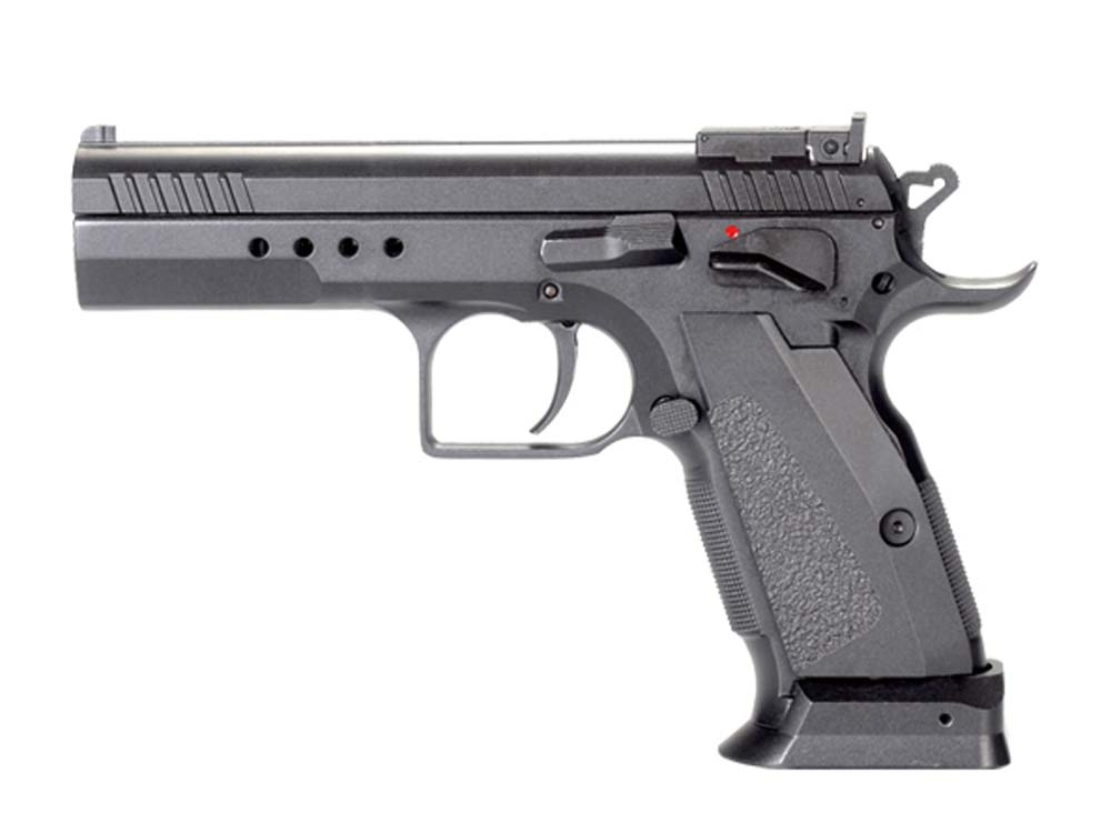 KWC Metal 75 Tactical Model CO2 GBB Pistol Black