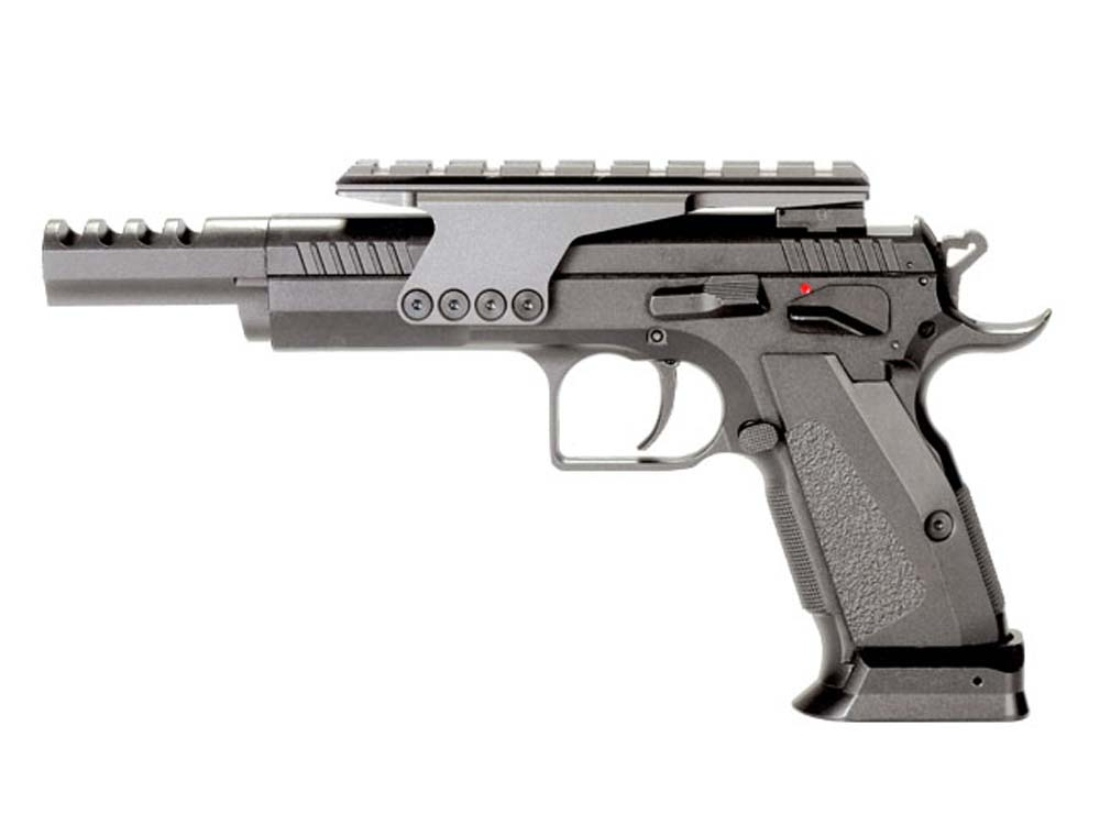 KWC Metal 75 Competition Model 4.5mm CO2 GBB Pistol Black