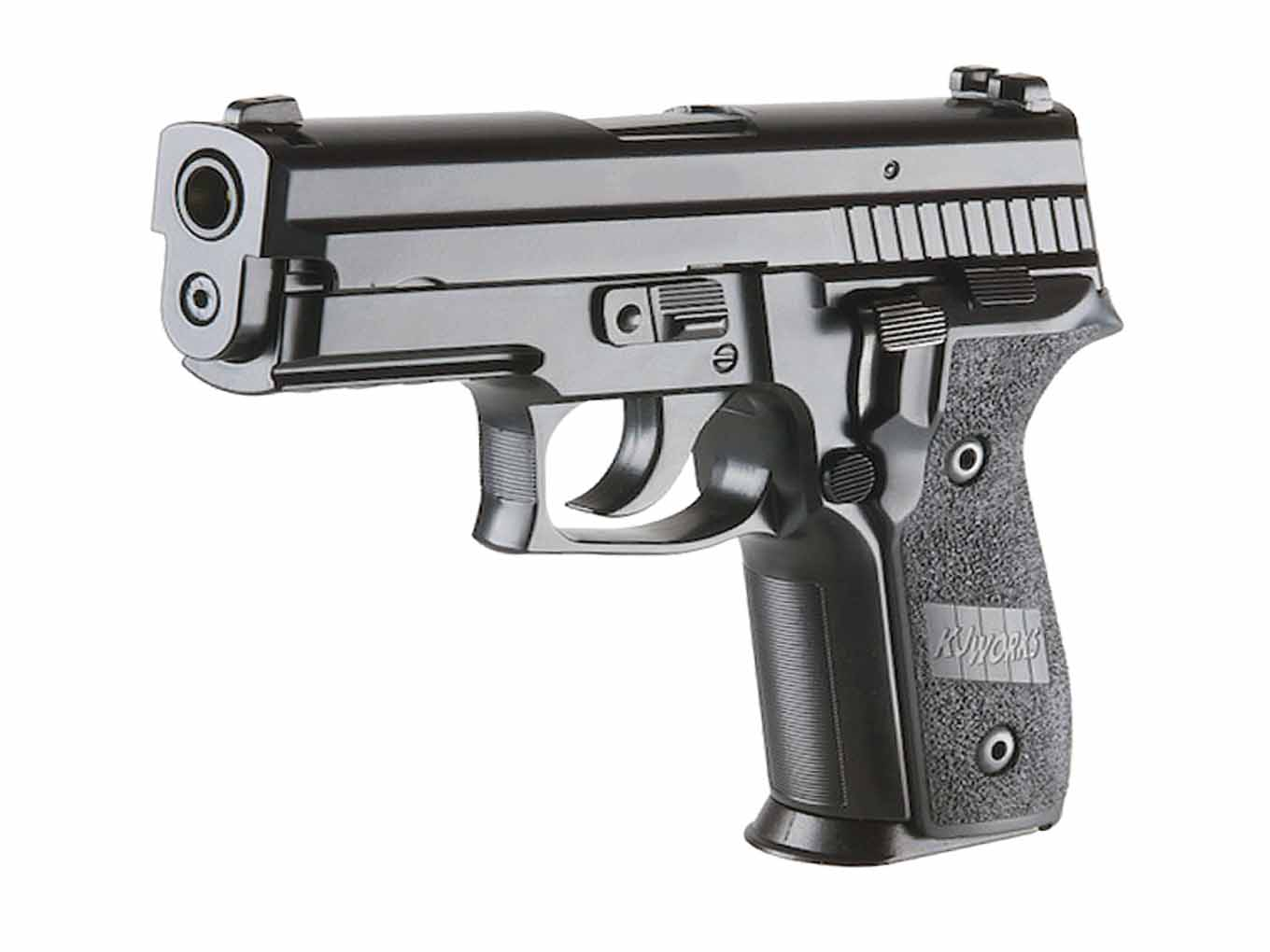 KJW P229 Full Metal Gas Blowback Airsoft Pistol Black