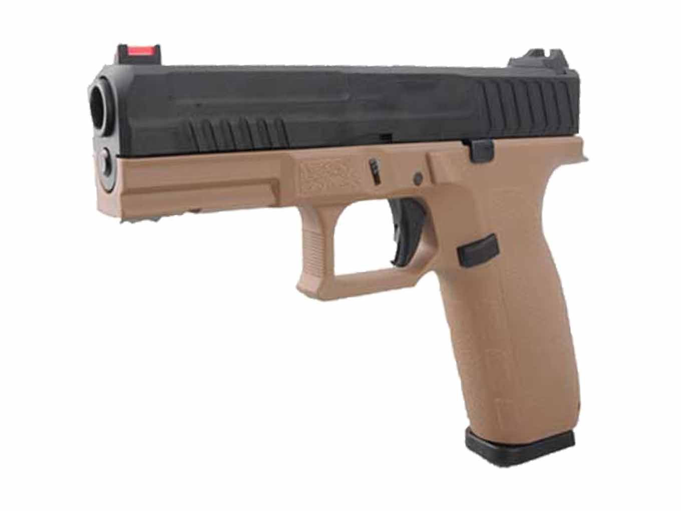KJW KP-13 Full Size Polymer Frame Gas Blowback Pistol Tan