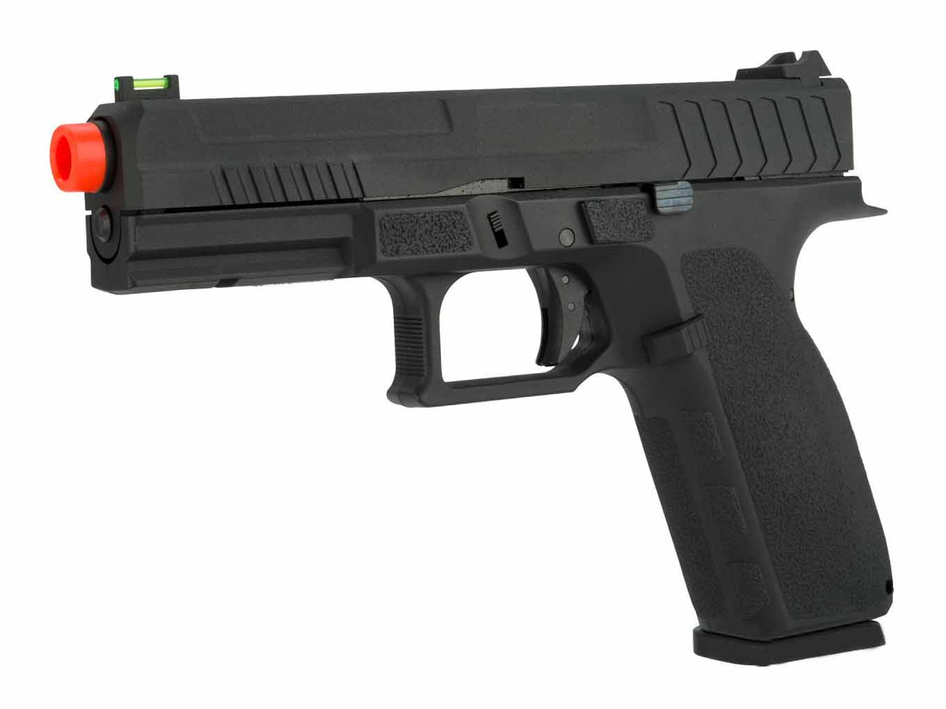 KJW KP-13 Full Size Polymer Frame Gas Blowback Pistol Black