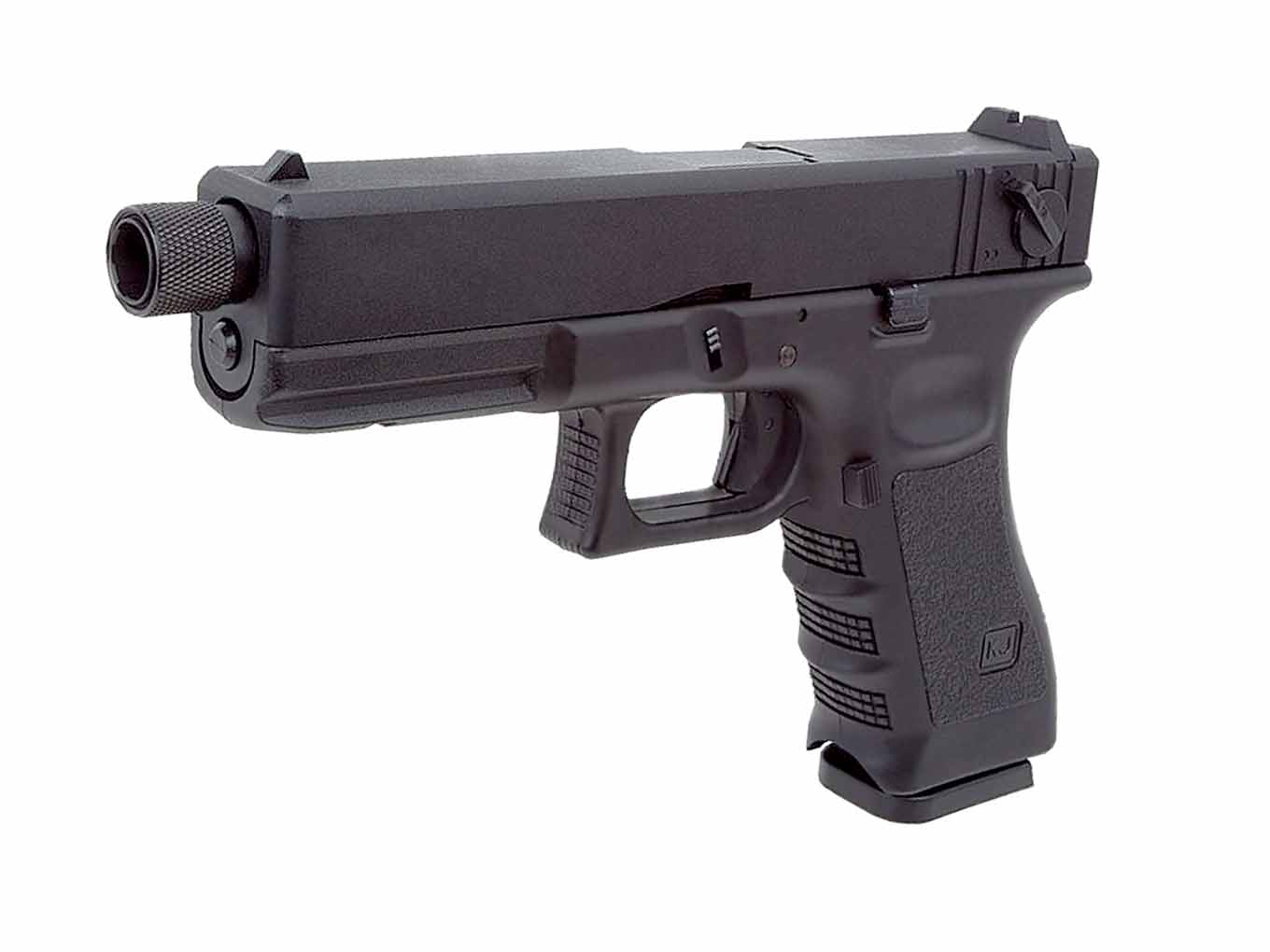 KJW KP-18 Metal Slide Tactical CO2 GBB Pistol Black