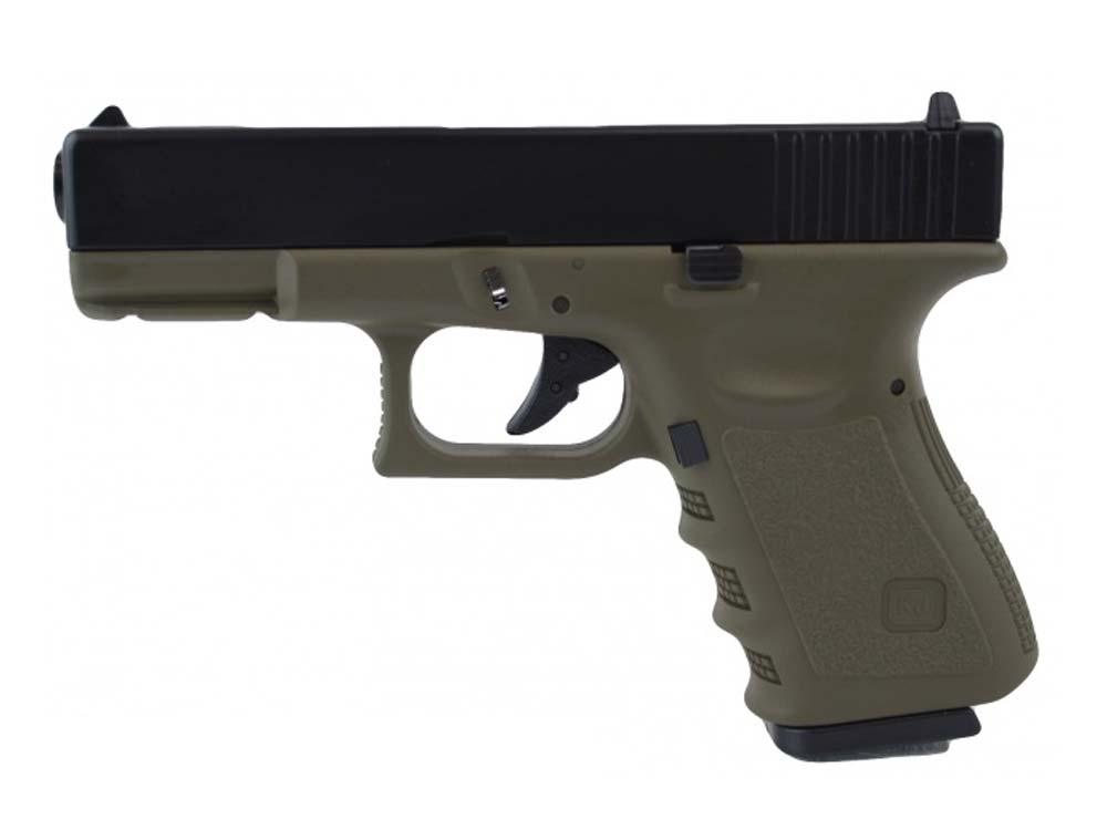 KJW G32C-MS OD Green Gas Metal Slide GBB Airsoft Pistol