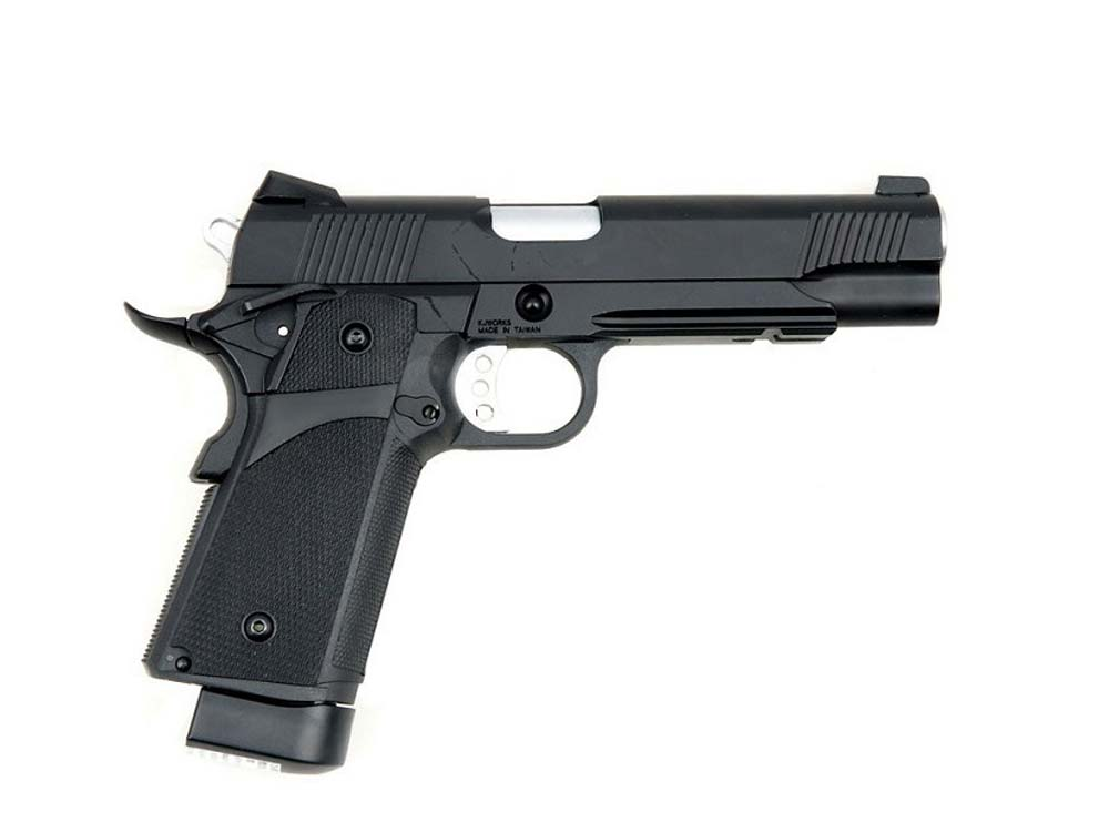 KJW Gas/Co2 Half Metal KP-05 Dual GBB Airsoft Pistol