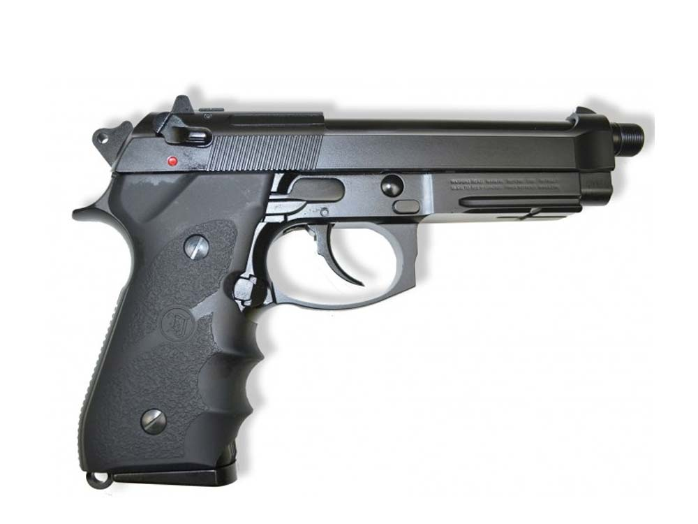 KJW Special M9A1 4.5mm Co2 Blow Back With Silencer Pistol