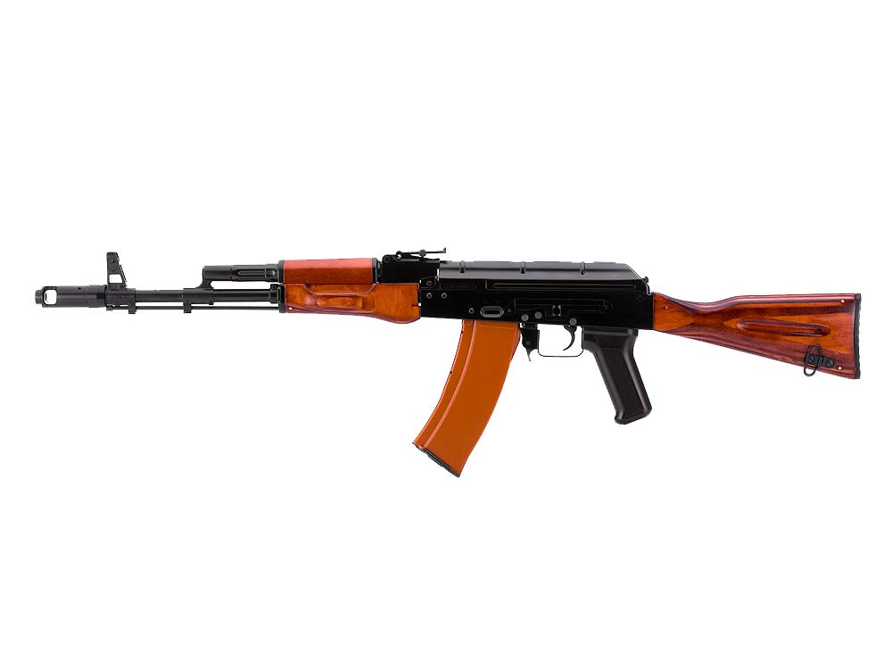 VF1 AK74N BK01 AK-74N AEG With Side Mounted Rail Rifle