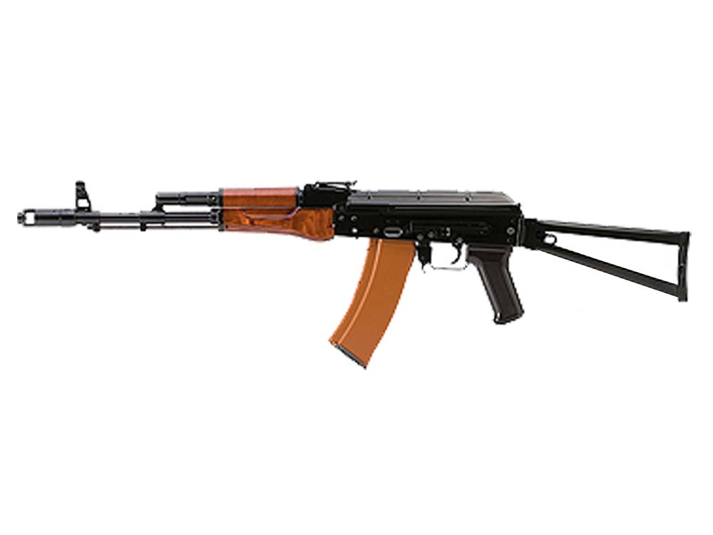 VF1 AKS74N BK01 AKS-74N AEG With Side Mounted Rail Rifle