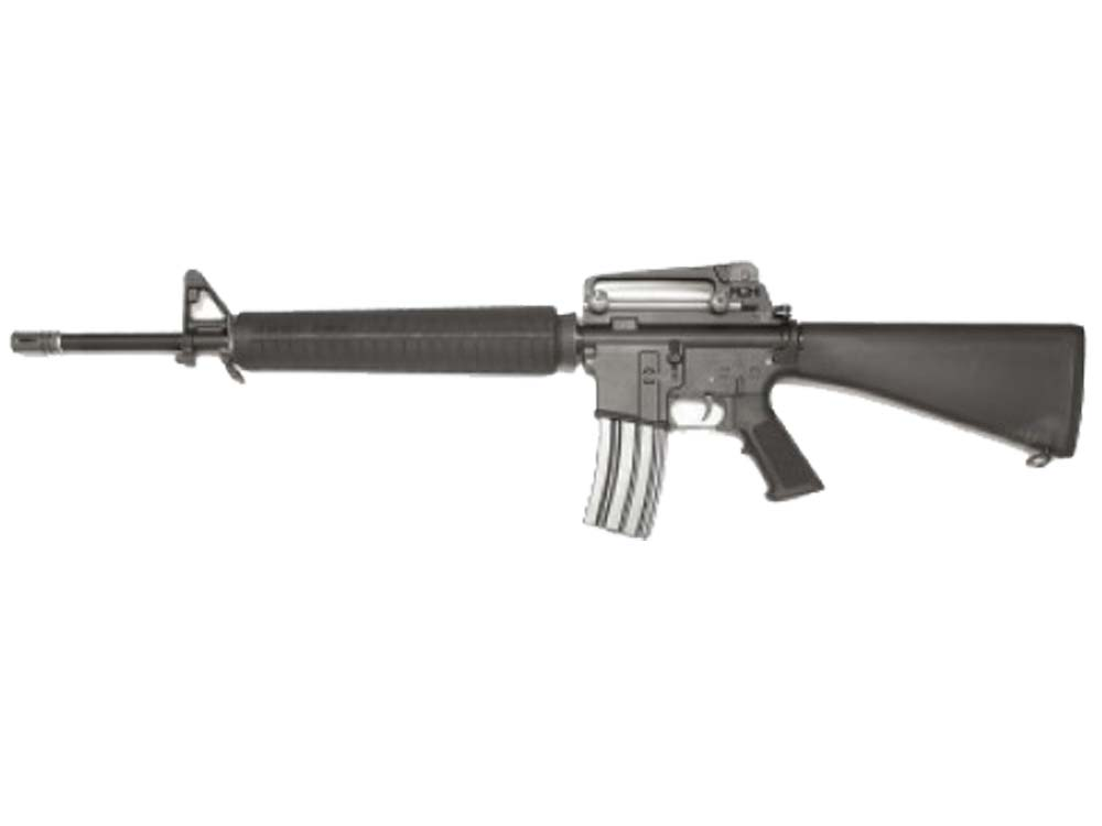 WE M16A3 COLT Gas Blow Back Rifle - BK