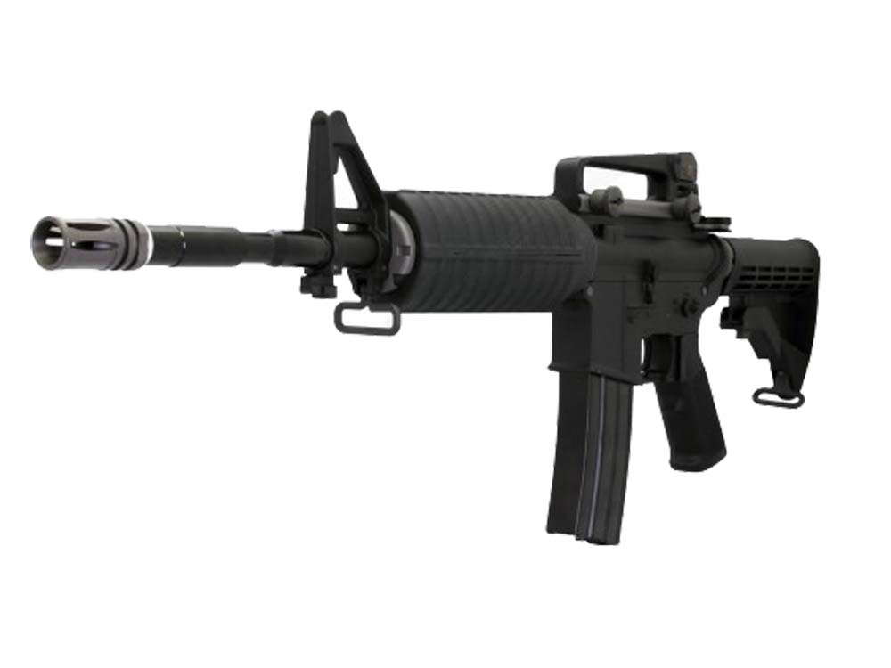 WE M4A1 Metal body AEG rifle without marking