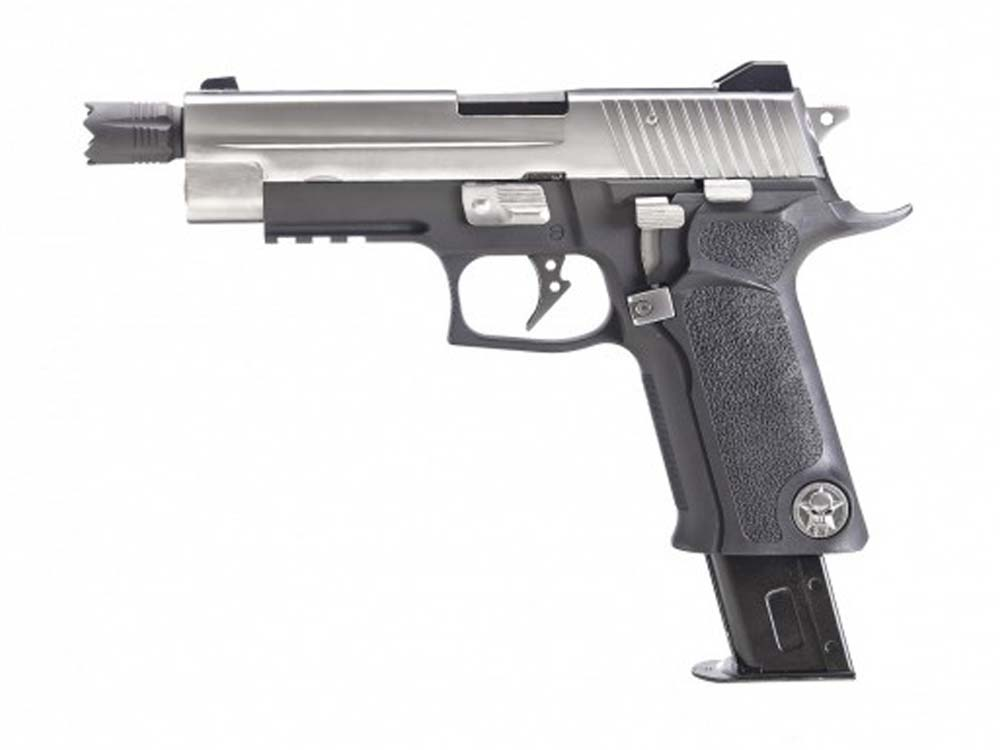 WE F006 M92 Full Metal 6mm Gas Blow Back Airsoft Pistol