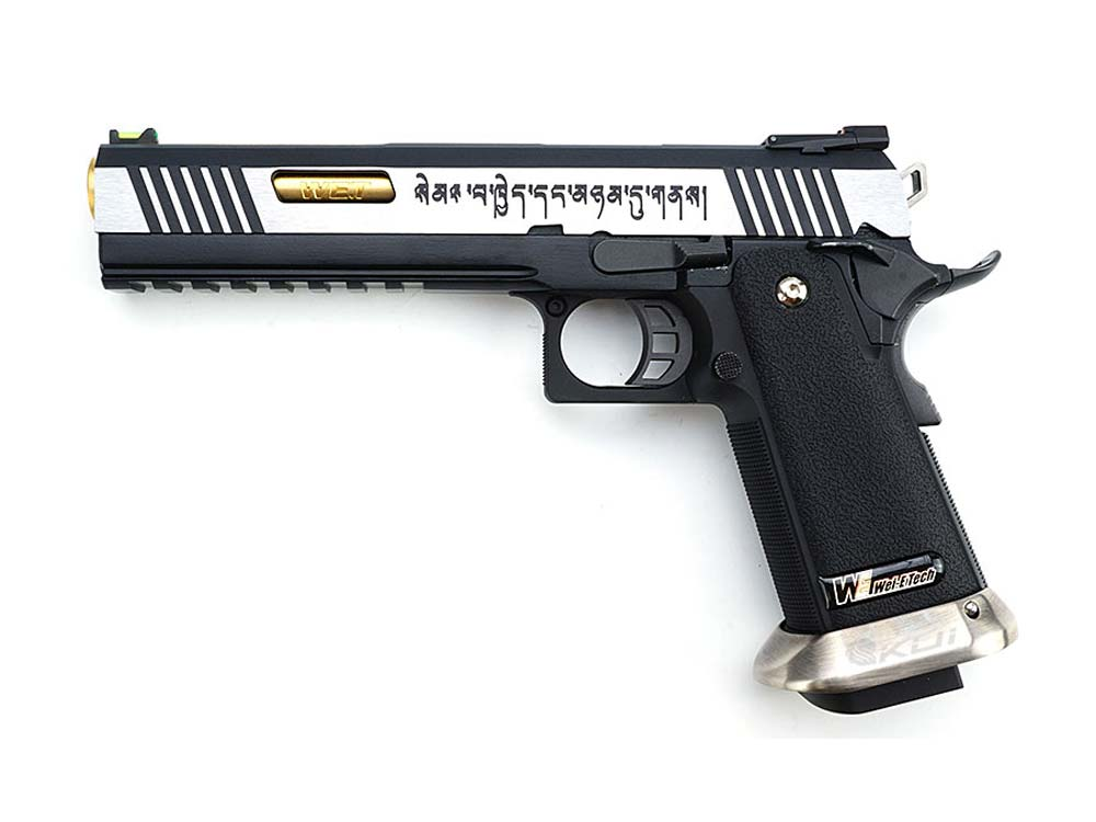 WE HI-CAPA 6 Inch IREX GBB Pistol GBB Full Metal With Marking