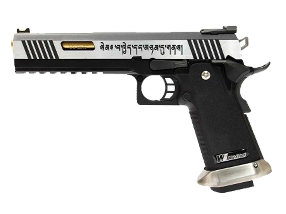 WE HI-CAPA 6 Inch IREX 2 Tone GBB Pistol No Marking Slide