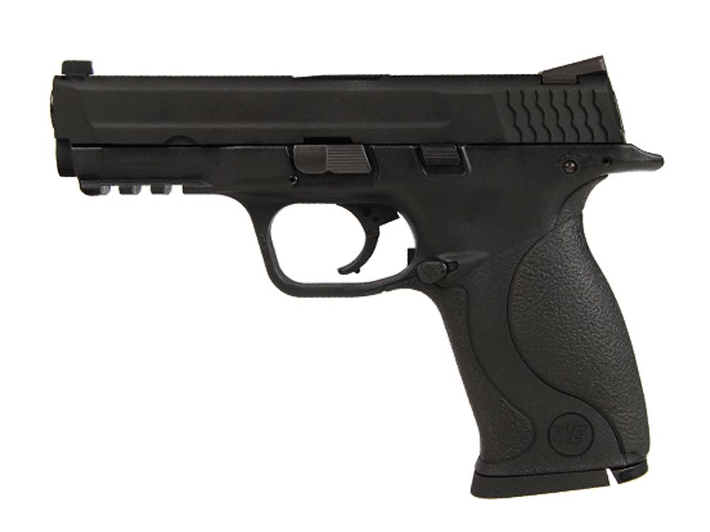 WE Metal Slide M&P Compact GBB Pistol Full Auto w/ 2 Mags BK