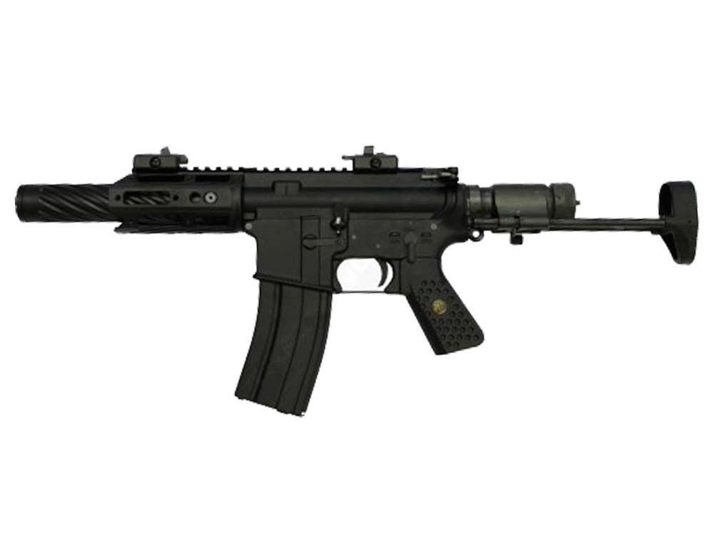 WE Metal R5C-AIR Compact type Assault Rifle GBB