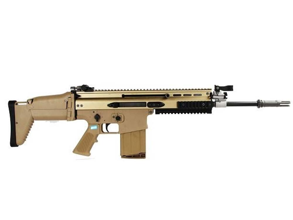 WE SCAR H GBBR TAN With Crane Stock Gas Blow Back