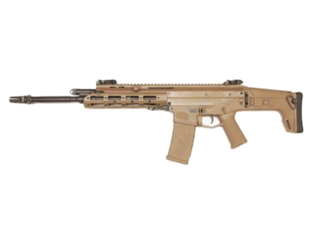 WE M010-MSK-FDE Semi/Full Auto 6mm Gas Blow Back Airsoft Rifles