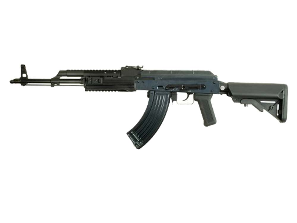 "WE Metal Body AK PMC Gas Blowback ""Open Chamber"" Airsoft Rifle"
