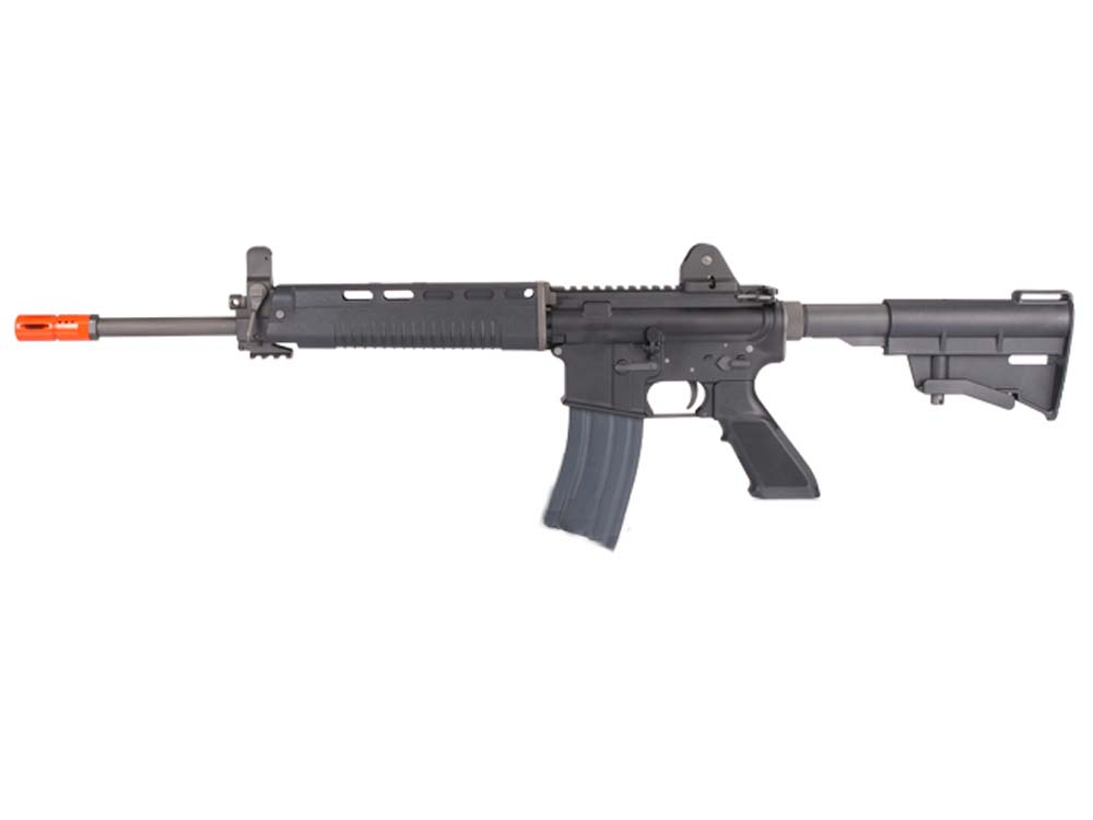 WE Open Bolt Full Metal M4 T91 Carbine Airsoft Gas Blowback GBB