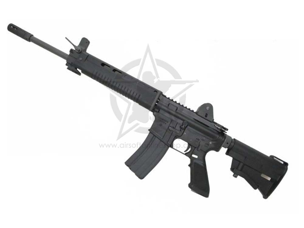 we open bolt full metal m4 t91 carbine airsoft gas
