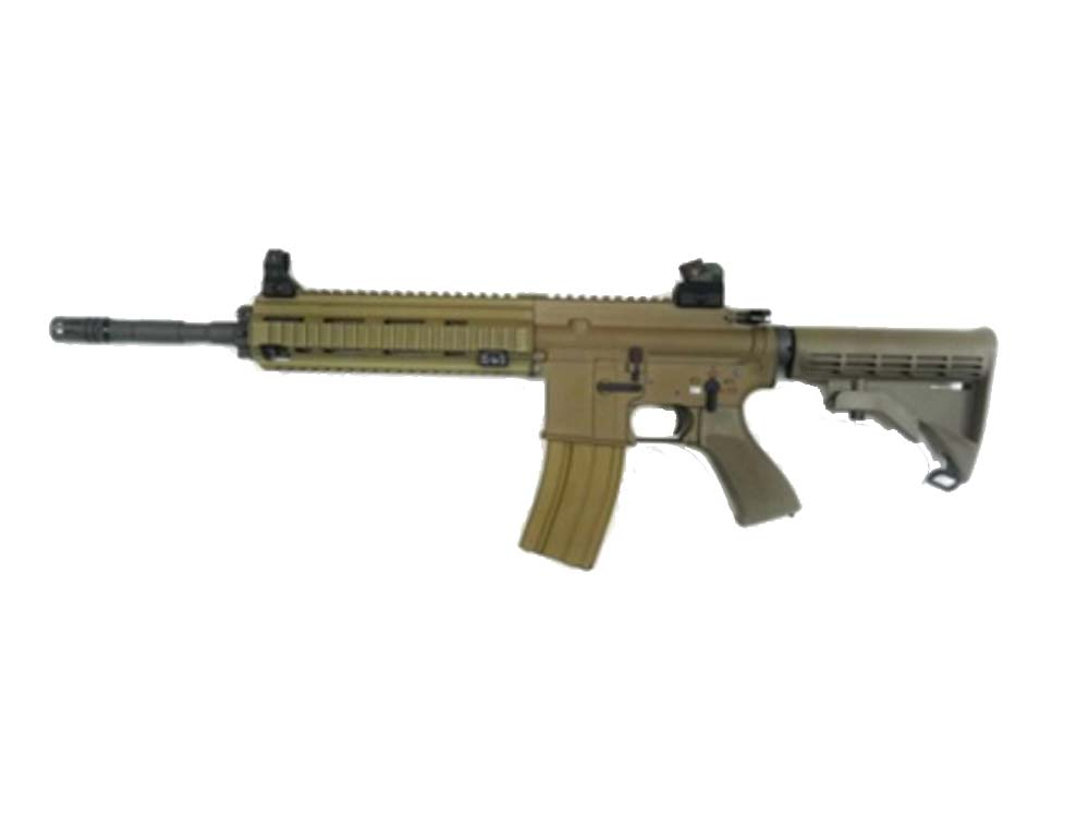 WE 4168 TAN Gas Open Bolt 6mm Blow Back Airsoft Rifles