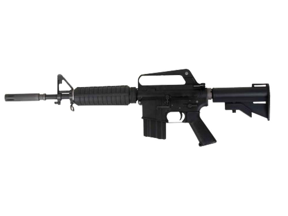 WE Full Metal Open Bolt XM177E2 GBB Rifle (BK)