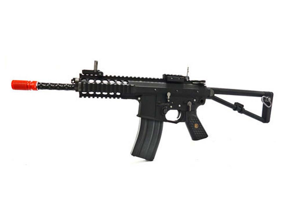 WE-Tech PDW FPS-500 Green Gas Airsoft Rifle