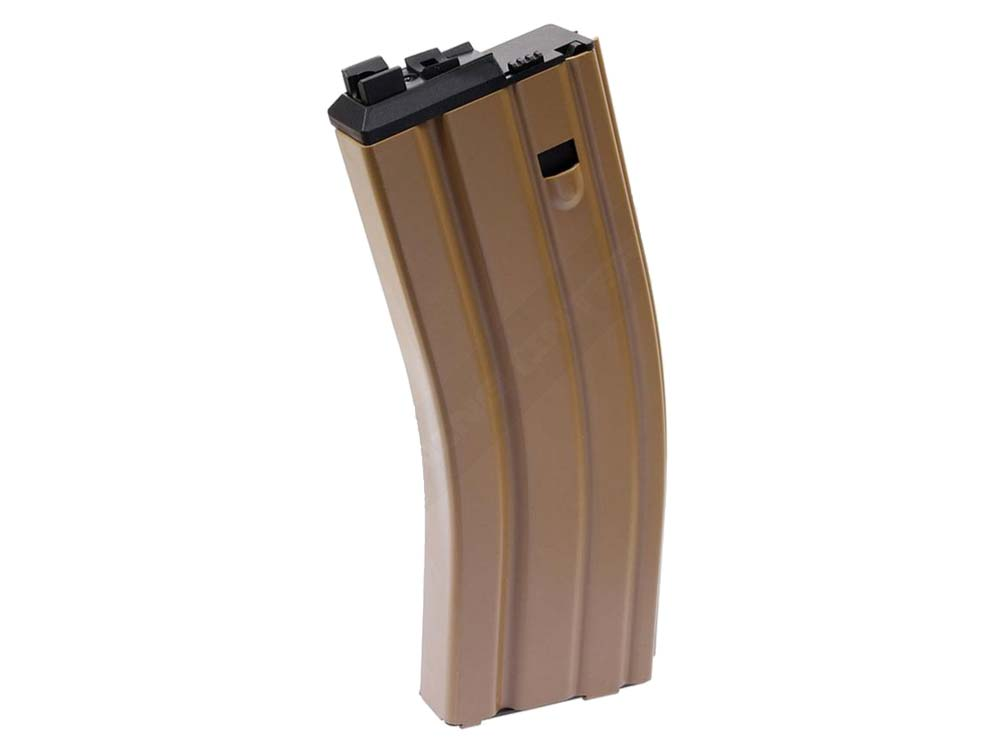 WE PDW-T Open Bolt TAN Gas Airsoft Magazine