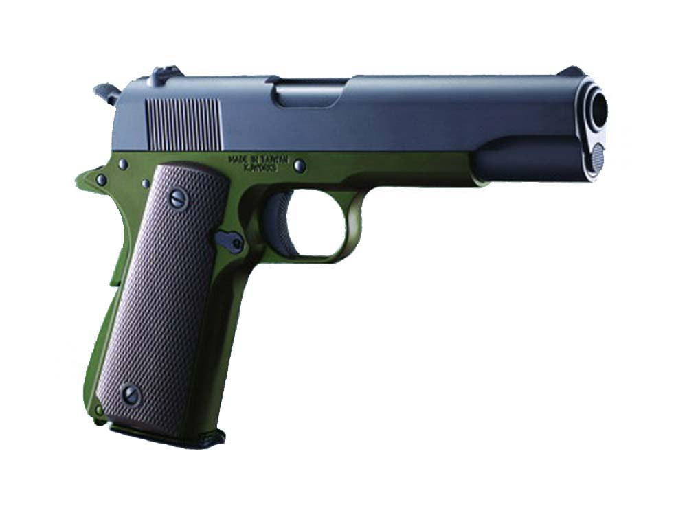 KJW ODG Gas Full Metal M1911 Single Stack GBB Airsoft Pistol