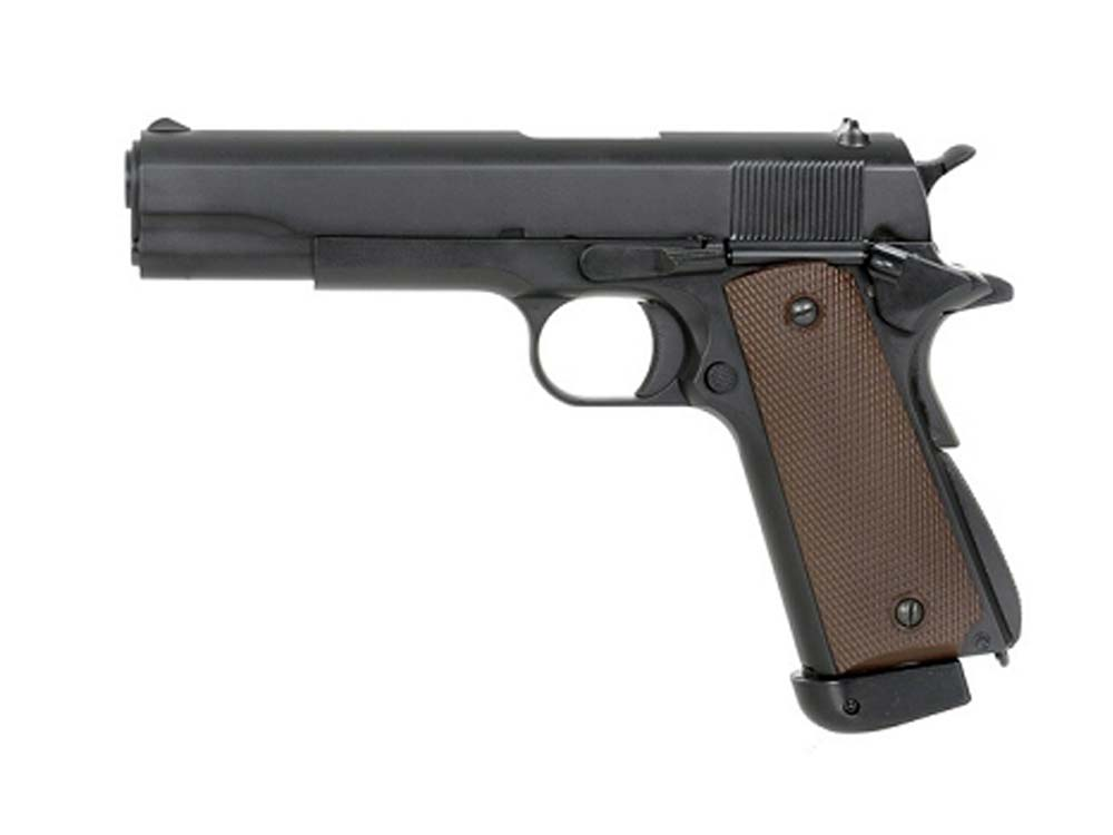 KJW Co2 Full Metal M1911 Single Stack GBB Airsoft Pistols