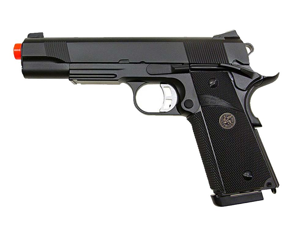 KJW KP-07 Co2 Full Metal M1911 Single Stack GBB Airsoft Pistols